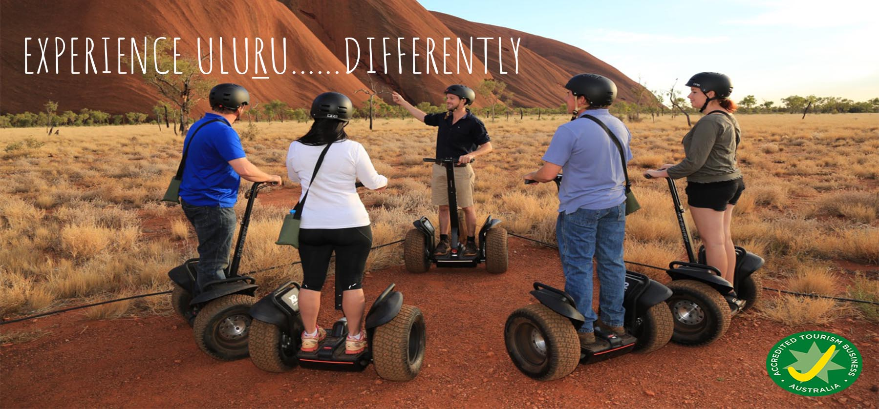 Uluru Segway Tours - Experience Uluru.... differently