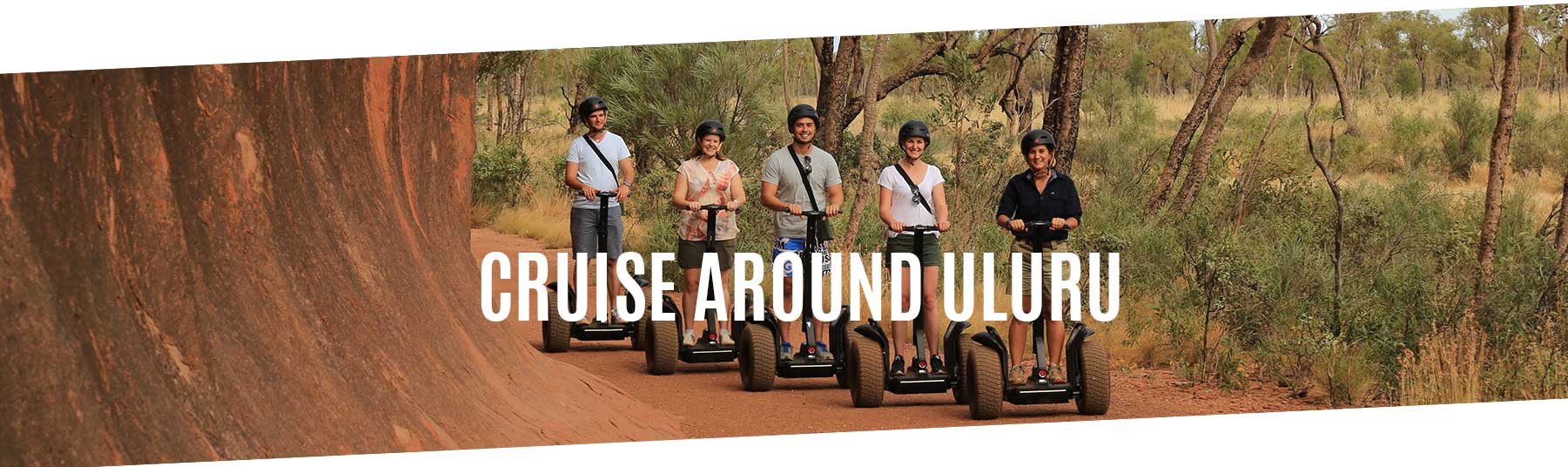 Cruise Around Uluru