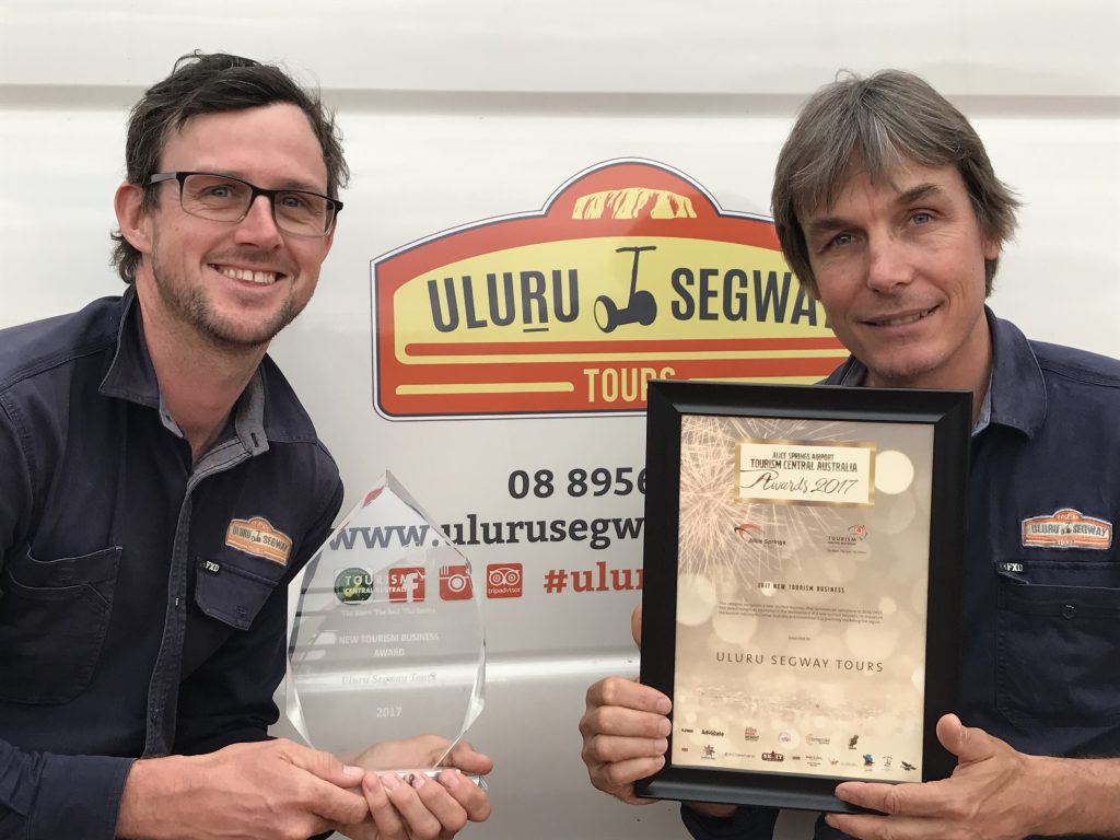 Uluru Segway Tours wins best new business